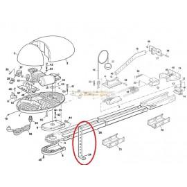Mhouse Patte de Support de Rail GD0