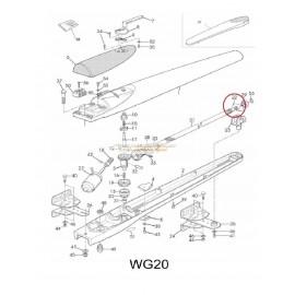 Mhouse WG20S Noix de transmission