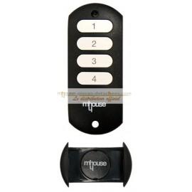 Mhouse GTX4C Télécommande 4 touches