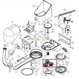 Mhouse Lot roues crantées n°6 WS2000S