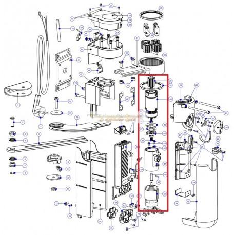 Mhouse WT2 WT2S moteur seul