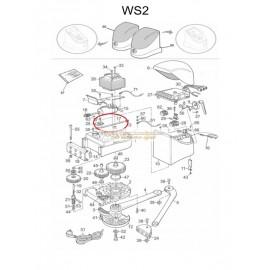 Mhouse Axe de Débrayage WS2-WW2