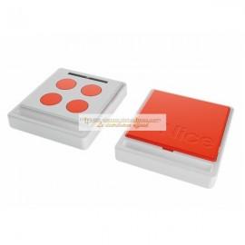 NICE Télécommande radio ECCO5 blanche et orange