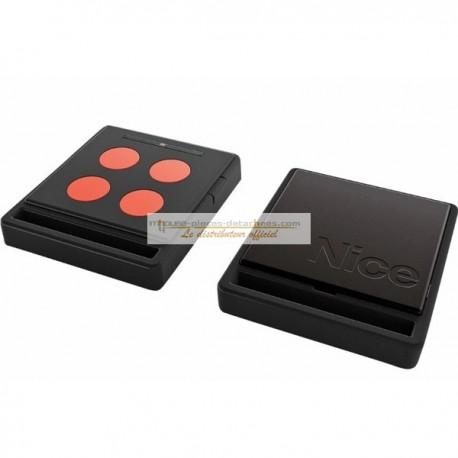 NICE Télécommande radio ECCO5  noir et orange