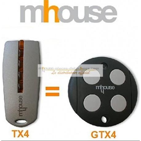 Mhouse télécommande TX4